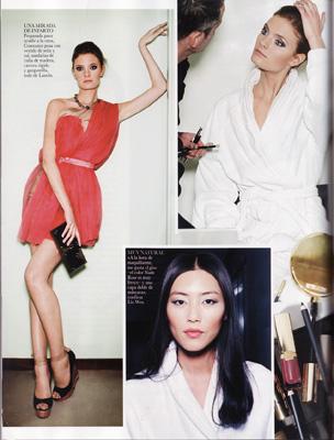 Vogue Spain April 2011 - Liu Wen, Constance Jablonski
