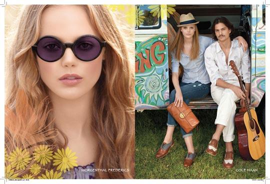 Americana Manhasset Spring 2011 Lookbook:Frida Gustavsson