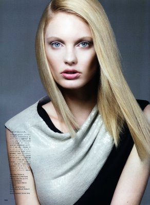 Vogue Nippon August 2010:Patricia van der Vliet