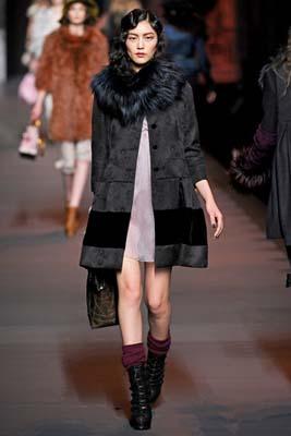 Christian Dior F/W 2011 - Liu Wen