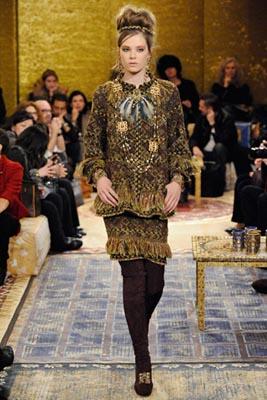 Chanel Paris-Byzance Pre Fall 2011 - Caroline Brasch Nielsen