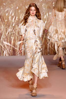 Anna Sui S/S 2011 : Lindsey Wixson