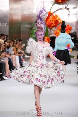 Christian Dior Haute Couture F/W 2010:Jessica Stam