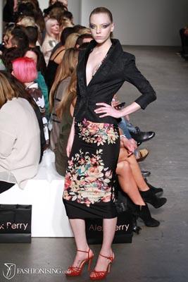 Alex Perry S/S 2011/12 - Skye Stracke
