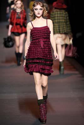 Christian Dior F/W 2011 - Vlada Roslyakova