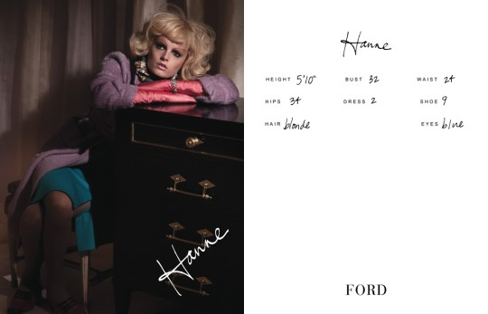 Show Packages-NY SS 11: Ford Models - Hanne Gaby Odiele