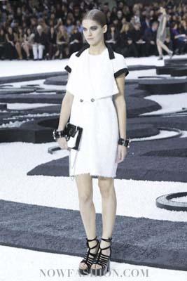 Chanel S/S 2011 : Samantha Gradoville
