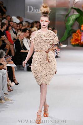 Christian Dior Haute Couture F/W 2010:Keke Lindgard