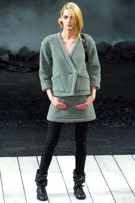Chanel F/W 2011 - Denisa Dvorakova