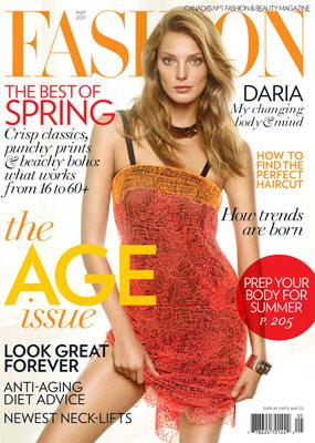 Fashion Canada May 2011 : Daria Werbowy