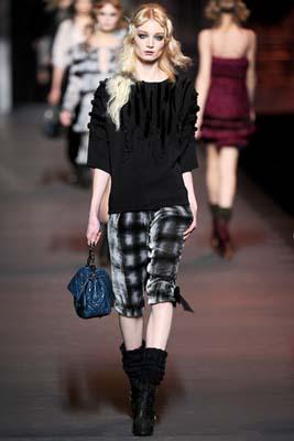 Christian Dior F/W 2011 - Melissa Tammerijn