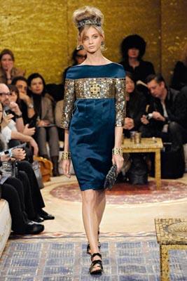 Chanel Paris-Byzance Pre Fall 2011 - Anna Selezneva