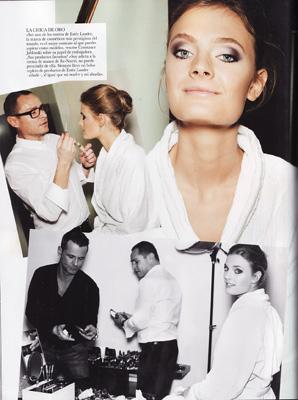 Vogue Spain April 2011 -  Constance Jablonski