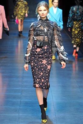 Dolce & Gabbana F/W 2011 - Magdalena Frackowiak