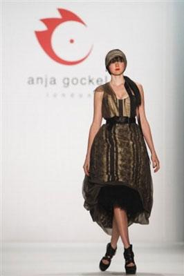 Anja Gockel F/W 2011 - Lily Cole