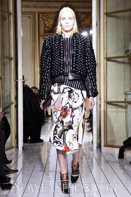 Balenciaga F/W 2011 - Aline Weber