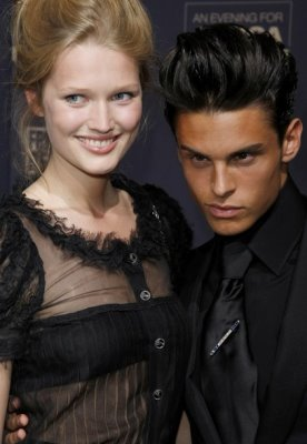 An Evening For Africa - Toni Garrn & Baptiste Giabiconi