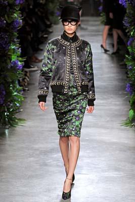 Givenchy F/W 2011 - Shu Pei