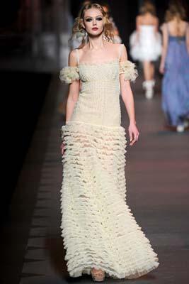Christian Dior F/W 2011 - Frida Gustavsson