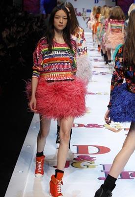 D&G F/W 2011 - Fei Fei Sun