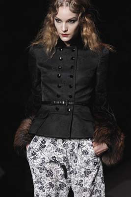 Christian Dior F/W 2011 - Dorothea Barth Jorgensen