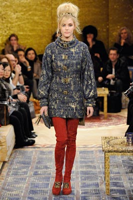Chanel Paris-Byzance Pre Fall 2011 - Ashley Smith