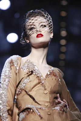 Christian Dior Haute Couture S/S 2011 - Monika Jagaciak
