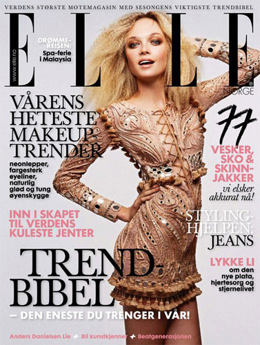 Elle Norway March 2011 : Siri Tollerod
