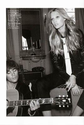 Vogue España November 2010:Toni Garrn