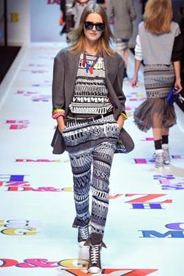D&G F/W 2011 - Lisanne De Jong