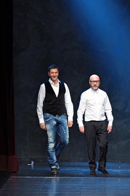 Dolce & Gabbana F/W 2011 - Stefano Gabbana & Domenico Dolce