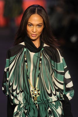 Anna Sui F/W 2011 - Joan Smalls