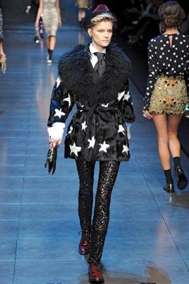 Dolce & Gabbana F/W 2011 - Kasia Struss