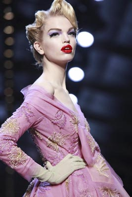 Christian Dior Haute Couture S/S 2011 - Daphne Groeneveld