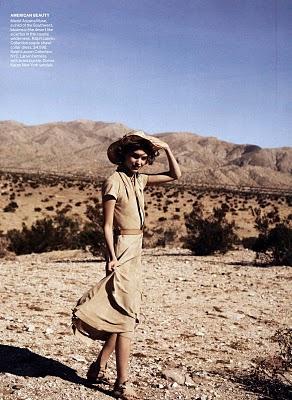 Vogue February 2011 : Arizona Muse