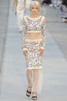 Chanel Cruise 2012 Cap d'Antibes - Abbey Lee Kershaw