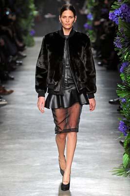 Givenchy F/W 2011 - Frankie Rayder