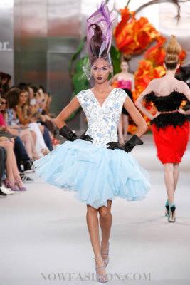 Christian Dior Haute Couture F/W 2010:Joan Smalls
