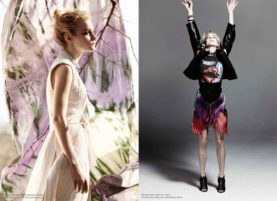 Russh April/May 2011:Jessica Stam