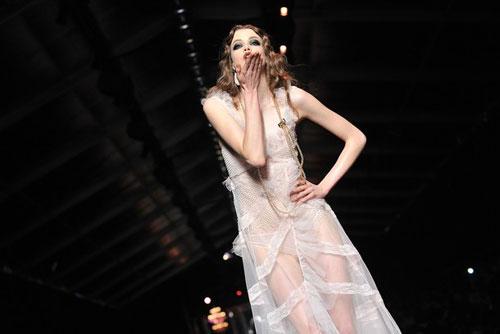 Christian Dior F/W 2011 - Julia Saner