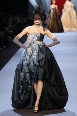 Christian Dior Haute Couture S/S 2011 - Magdalena Frackowiak