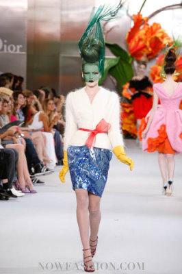 Christian Dior Haute Couture F/W 2010:Lisanne De Jong