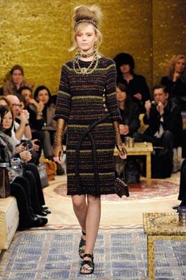 Chanel Paris-Byzance Pre Fall 2011 - Frida Gustavsson