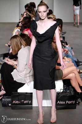 Alex Perry S/S 2011/12 - Julia Nobis