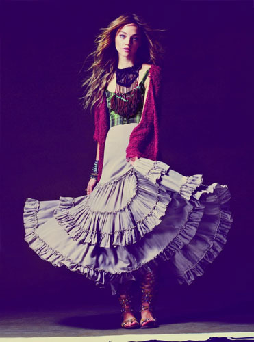 Free People April 2011 Catalogue