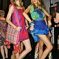Jessica Stam & Lily Donaldson