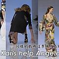Emilio Pucci  S/S'09 - Angela Lindvall & Karlie Kloss