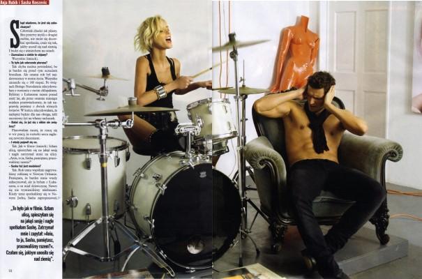 Viva 11 December 2008 -Anja Rubik&Sasha Knezevic