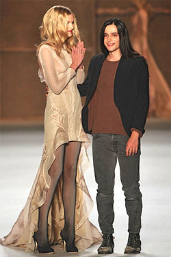 Nina Ricci S/S'09 - Olivier Theyskens & Lily D