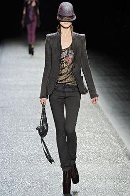 Nina Ricci F/W'09 - Kasia Struss